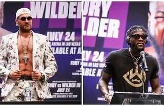 Tyson Fury will face off against Deontay Wilder on 24th July 2021.