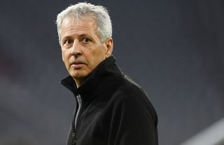 Lucien Favre during his managerial days at Borussia Dortmund