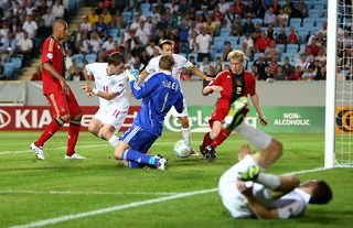 Germany beat England 4-0 in the U21 Euro final in 2009