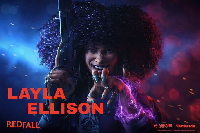 Layla Ellison is one of the four playable characters in Redfall.