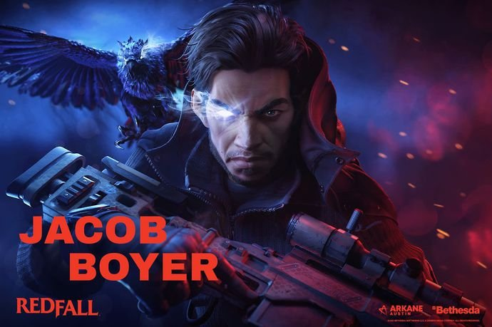 Jacob Boyer is one of the four playable characters in Redfall.