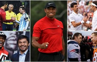 The 20 most dominant athletes of the last 20 years have been named and ranked