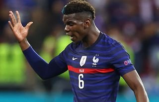 France's Pogba shows his anger in Euro 2020 loss vs Switzerland.