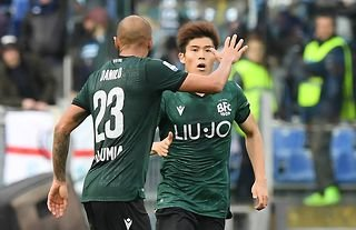 West Ham target Takehiro Tomiyasu in action for Bologna