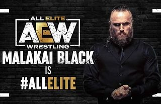 Aleister Black has signed with AEW