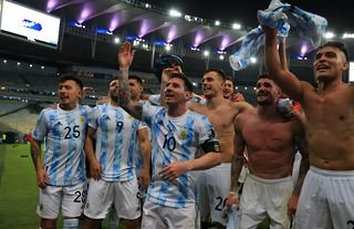 Argentina are champions of South America!
