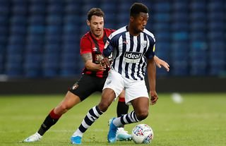Kyle Edwards in action for West Brom
