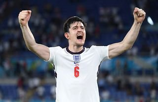 Harry Maguire was one of the star performers at Euro 2020