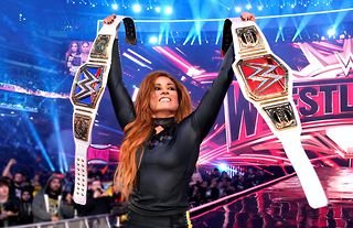 Becky Lynch is looking huge ahead of a potential WWE return