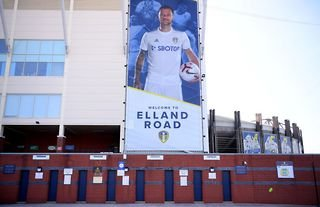 General view outside of Leeds United's Elland Road