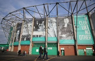 Outside view of Celtic Park ahead of a clash with Motherwell