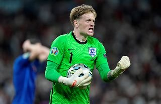 Jordan Pickford was one of the stars of Euro 2020