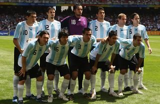 Argentina won the gold medal at the 2008 Olympics