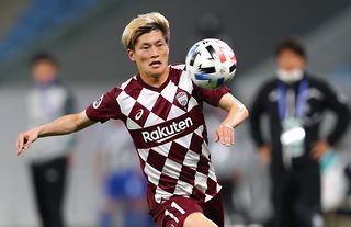 New Celtic signing Kyogo Furuhashi in action for his former club Vissel Kobe