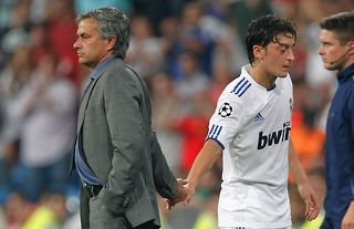 Jose Mourinho & Mesut Ozil were colleagues at Real Madrid