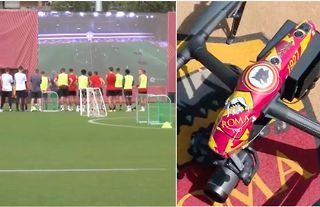 Jose Mourinho takes AS Roma training sessions to next level using drone  technology | GiveMeSport