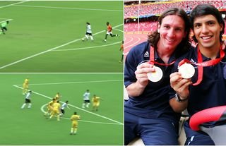 Lionel Messi at the Olympics