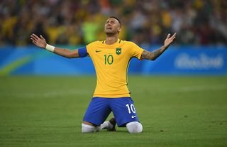 Neymar won a gold medal with Brazil at the 2016 Olympics