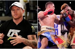 Canelo Alvarez reacts to Jermell Charlo's controversial draw with Brian Castano