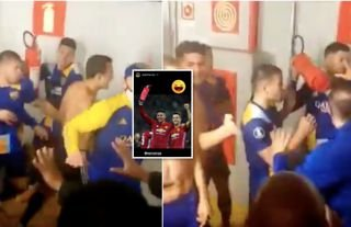 Ander Herrera pays tribute to Marcos Rojo after fire extinguisher incident at Boca Juniors