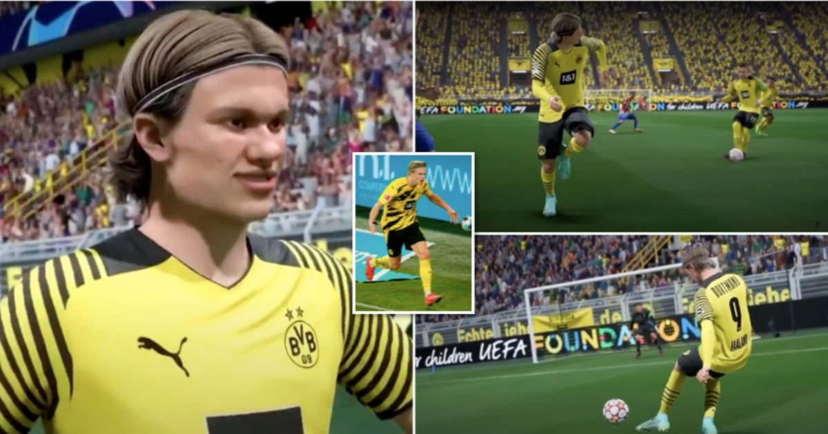 Erling Haaland's unorthodox working model goes to be in FIFA 22