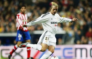 David Beckham was a fine player for Real Madrid