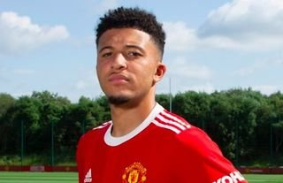 Jadon Sancho is a Manchester United player!