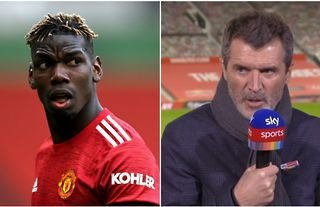Roy Keane and spoken passionately about Paul Pogba's Man United future before