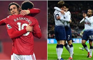 Tottenham have a better front three than United, says O'Hara