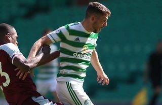 Celtic midfielder Ryan Christie in action amid doubts over his future