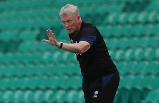 West Ham manager David Moyes on the touchline in pre-season