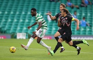 Celtic striker Odsonne Edouard is a target for Crystal Palace and Brighton