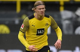 Erling Haaland has been linked with a move to Chelsea this summer