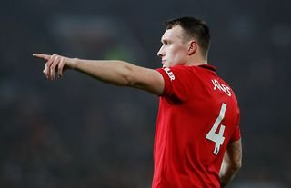 Southampton target Phil Jones in action for Man United