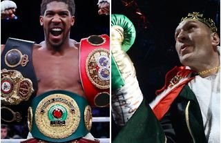 Anthony Joshua and Tyson Fury are set to face off during 2022