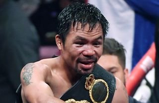 Manny Pacquiao is 'one of the greatest'; he 'is explosive' and could cause Errol Spence Jr problems, says Andy Lee