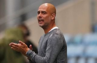 Pep Guardiola on the sidelines for Man City amid speculation over a move for Grealish