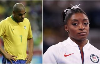 Ex-Brazil striker Adriano sends beautiful message to Simone Biles after her withdrawal from Tokyo Olympics final