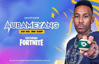 Galaxy Racer will host a Fortnite tournament that features Arsenal star Pierre-Emerick Aubameyang.