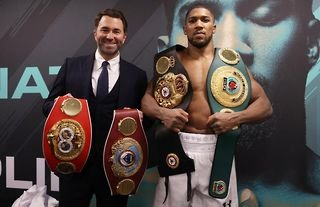 Eddie Hearn is 'confident' Anthony Joshua will have too much for Tyson Fury should they finally meet in the ring.