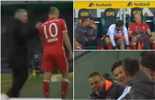 Bayern players laughed at Arjen Robben when he was subbed off in 2017