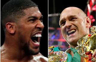Anthony Joshua is set to take on Tyson Fury inside the boxing ring during 2022
