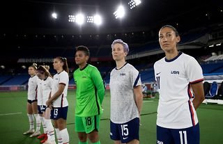The United States women's football team have received support from their male counterparts in their equal pay lawsuit