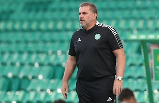 Celtic manager Ange Postecoglou amid rumours linking him with a £5m move for Cameron Carter-Vickers