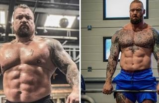 Eddie Hall and Hafthor Bjornsson are set to go head to head in September 2021.