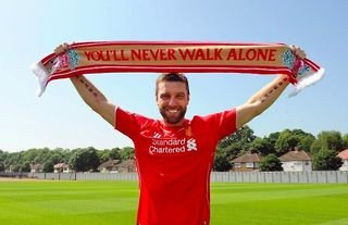 Rickie Lambert was signed by Liverpool in the summer of 2014
