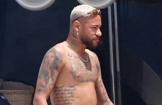 Neymar is currently on holiday after the 2021 Copa America