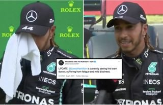Lewis Hamilton's post-race interview at the Hungary GP made for worrying viewing