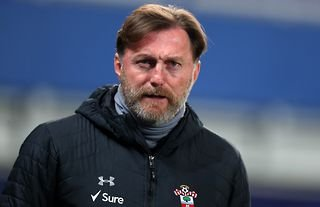 Southampton manager Ralph Hasenhuttl looking into the distance