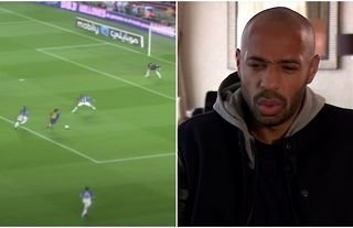 Lionel Messi's best goal, according to Thierry Henry